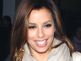Eva Longoria Parker leaving Beso Restaurant after having dinner with friends