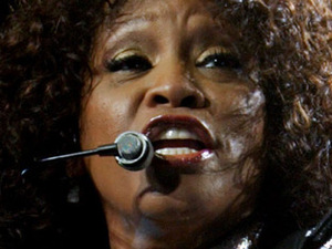 Whitney Houston performing live in concert at the Acer Arena, Sydney