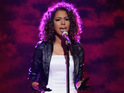 "American Idol eliminee Michelle Delamor promises that she will go on to ""something big""."