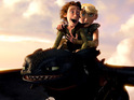 Animated film How To Train Your Dragon returns to the top of the US box office.