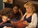 "Sandra Bullock's on-screen son in The Blind Side says that he thinks she will be an ""amazing"" mother."