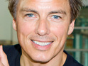 The executive producer of Glee refutes reports that John Barrowman will appear on the show.