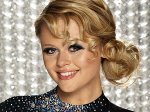 Emily Atack on Dancing On Ice