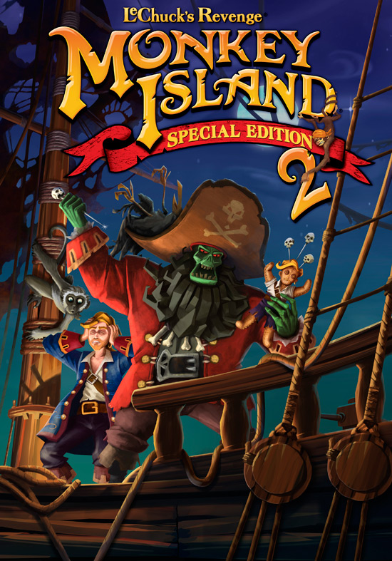Gaming Gallery: Monkey Island 2: Special Edition vs Original