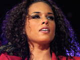 Alicia Keys performing live at The Air Canada Centre
