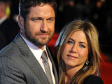 Jennifer Aniston and Gerard Butler at 'The Bounty Hunter' UK film premiere