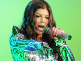 Stacey Ferguson, aka Fergie performing with The Black Eyed Peas