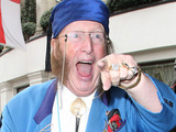 John McCririck at the TRIC awards 2010