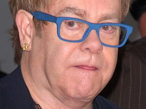 Sir Elton John at the 18th Annual Elton John AIDS Foundation Academy Awards