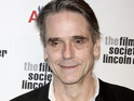 Jeremy Irons is to guest star in an episode of Law & Order: Special Victims Unity.