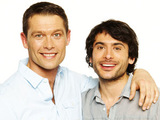 John Partridge and Marc Elliott