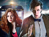 The Doctor and Amy from Doctor Who