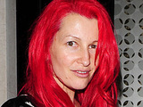 Jane Goldman at Locatelli restaurant