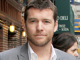 Sam Worthington outside the Ed Sullivan Theater for the 'Late Show With David Letterman'