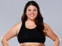 "Stephanie Anderson says that she is ""truly happy"" with fellow Biggest Loser contestant Sam Poueu."