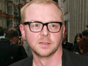 Simon Pegg sends a message to space to introduce The Beatles' 'Tomorrow Never Knows'.