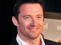 "Hugh Jackman says that he felt pressured to come up with ""a line"" to ask his wife to marry him."