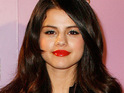 Selena Gomez says that she changed her autograph after co-star John Corbett poked fun at it.