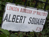 Albert Square sign