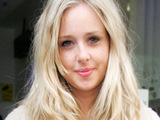 Diana Vickers leaving the BBC Radio 1 studios after her appearance on the breakfast show