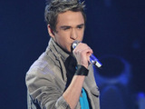 Aaron Kelly in the American Idol final 9