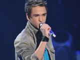 Aaron Kelly in the American Idol final 9