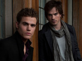 Damon and Stefan from The Vampire Diaries