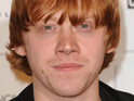 Rupert Grint admits to nerves over filming a sex scene and watching it back with his parents.