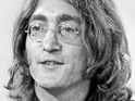 John Lennon's handwritten lyrics for a classic Beatles track will be auctioned off in London.