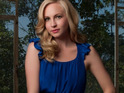 Candice Accola admits that she has no idea whether she will have a romance on The Vampire Diaries.