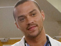 Jesse Williams reveals that he is pleased he has a romantic storyline on Grey's Anatomy.