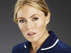 Faye Morton from Holby City