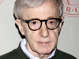 Woody Allen attending the Atlantic Theater Company 25th Anniversary Gala