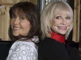 Elisabeth Sladen and Katy Manning