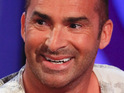Louie Spence is denied access to the Glee cast while filming in London.