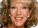 Sue Nicholls says she hopes she portrays her character's heart attack realistically.