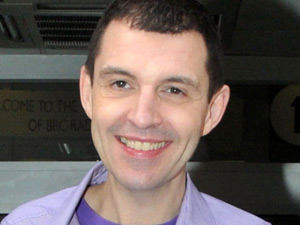 DJ Tim Westwood leaving the BBC Radio One studios
