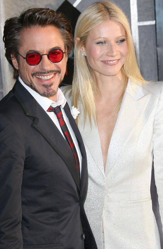 Stars Robert Downey Jr, Gwyneth Paltrow, Scarlett Johansson and Mickey ...