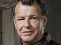 John Noble admits that he enjoys the lighter moments in Fox drama Fringe.