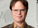 The Office star Rainn Wilson jokes that he loves working with everyone except Ricky Gervais.