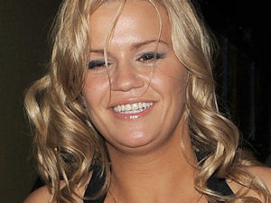 Kerry Katona leaving the London film premiere of 'The Back-Up Plan'