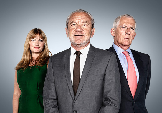 Junior Apprentice - Karren Brady, Lord Sugar and Nick Hewer