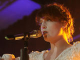 Florence Welch of 'Florence and The Machine' in concert at the Edinburgh Corn Exchange, Scotland