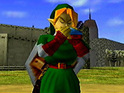 Nintendo shows a 3D teaser of The Legend Of Zelda: Ocarina Of Time on its 3DS handheld.