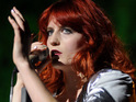 "Florence Welch admits that traveling on her US tour left her feeling like a ""zombie""."