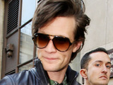 Matt Smith outside the BBC Radio 1 studios