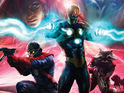 Marvel Comics announces a cosmic one-shot written by Dan Abnett and Andy Lanning.