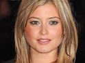 Holly Valance insists that she never feels pressure to be thin.