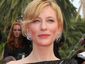 Cate Blanchett will reprise her Lord Of The Rings role in the upcoming Hobbit movies.