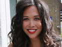 Myleene Klass reveals that her second child will be a baby girl.
